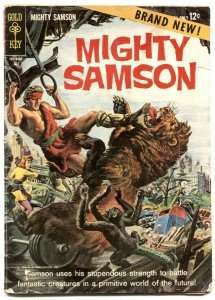 Mighty Samson #1 1964- Gold Key comic- Frank Thorne FR