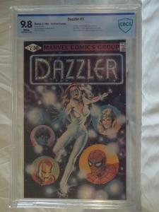 Dazzler #1 - CBCS 9.8 - Error Variant