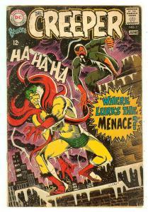 Beware The Creeper 1   Classic Ditko cover