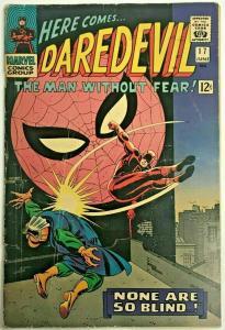 DAREDEVIL#17 VG/FN 1966 MARVEL SILVER AGE COMICS