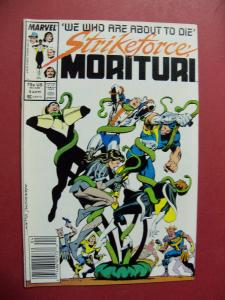 STRIKEFORCE MORITURI #5    (9.0 to 9.4 or better)  MARVEL COMICS