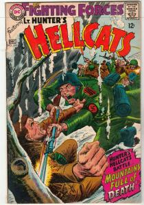 Our Fighting Forces #110 (Dec-67) FN/VF+ High-Grade Lt. Hunter, the Hellcats ...