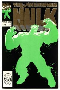 INCREDIBLE HULK #377 2nd print First Professor Hulk Avengers NM-
