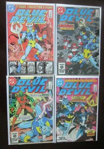 Blue Devil Comic Lot #1-31 and Annual (1984-86)  32 different books Avg 7.0