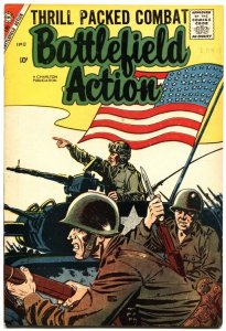 BATTLEFIELD ACTION #17-1957-AMERICAN FLAG COVER-TEDDY ROOSEVELT-ROUGH RIDERS