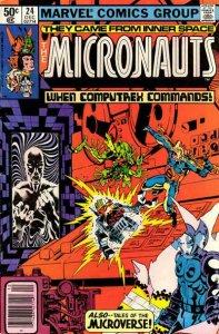 Micronauts (Vol. 1) #24 (Newsstand) VG; Marvel | low grade comic - save on shipp