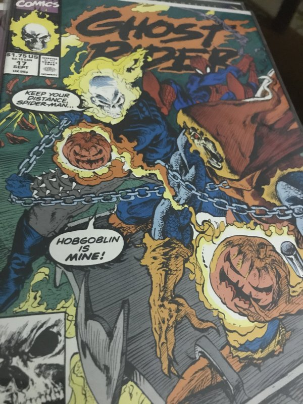 Marvel Ghost Rider #17 Mint Feat Spider-Man