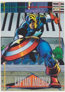 1993 Marvel Universe #95 Captain America