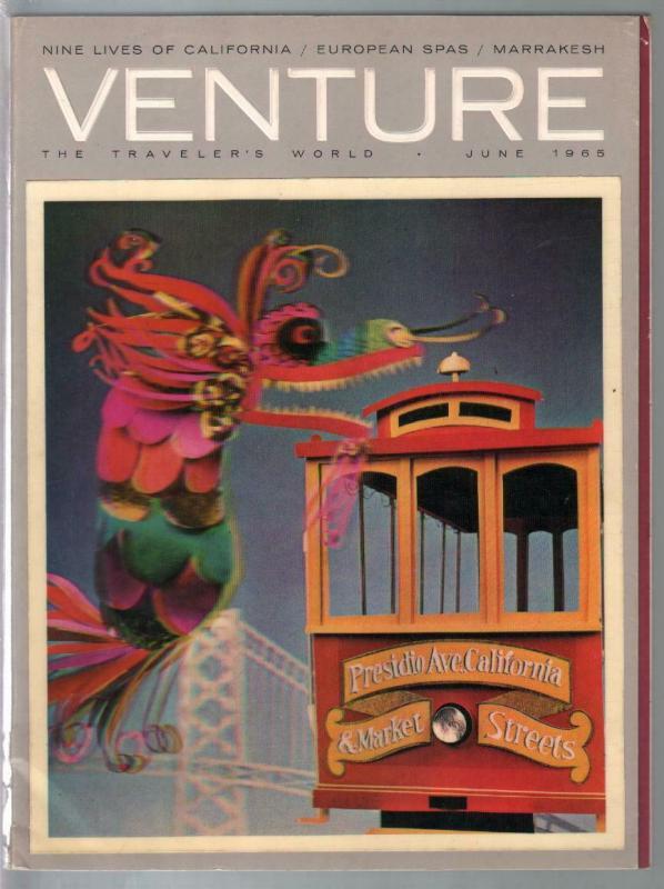 Venture - The Traveler's World 6/1965-lenticular cover-pix-info-FN