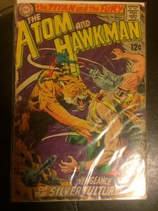 The atom and the hawkman