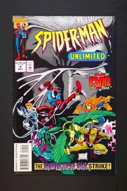 Spider-Man Unlimited #9 May 1995