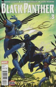 Black Panther (5th Series) #3 VF/NM; Marvel | save on shipping - details inside