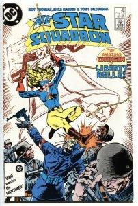 ALL-STAR SQUADRON #61 1986 comic book - Origin of LIBERTY BELLE
