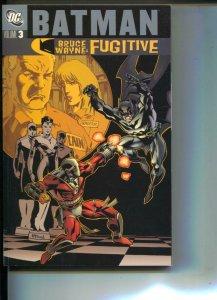Batman Bruce Wayne: Fugitive Vol. 3-Steve Leiber-TPB- trade