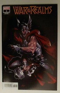 WAR OF THE REALMS #1 GABRIELLE DELL OTTO 1:10 VARIANT NEAR MINT