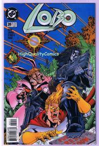 LOBO #20, VF/NM, Bounty Hunter, Alan Grant, Frag, 1993, more Lobo in store