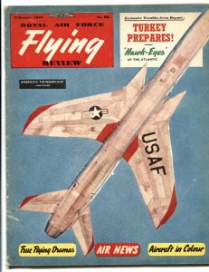 Royal Air Force Flying Review February 1958- Thunderbird