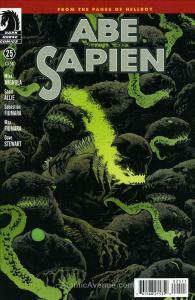 Abe Sapien: Dark and Terrible #25 VF/NM; Dark Horse | save on shipping - details
