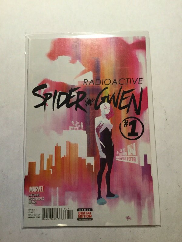 Radioactive Spider Gwen 1 Near Mint Nm Marvel