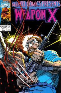 Marvel Comics Presents (1988 series) #81, NM (Stock photo)