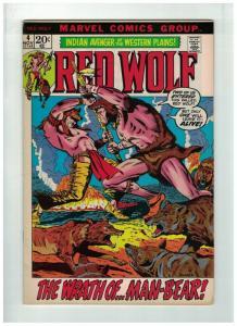 RED WOLF 4 VG-F Oct. 1972