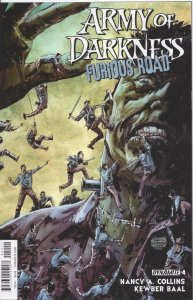ARMY OF DARKNESS Furious Road #4, VF/NM, Bruce Campbell, more AOD in store