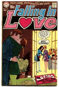 Falling In Love #110 1969 DC Romance Comic-ASTROLOGY vg