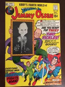 JIMMY OLSEN #139 GLOSSY VF DON RICKLES! KIRBY! SUPERMAN!