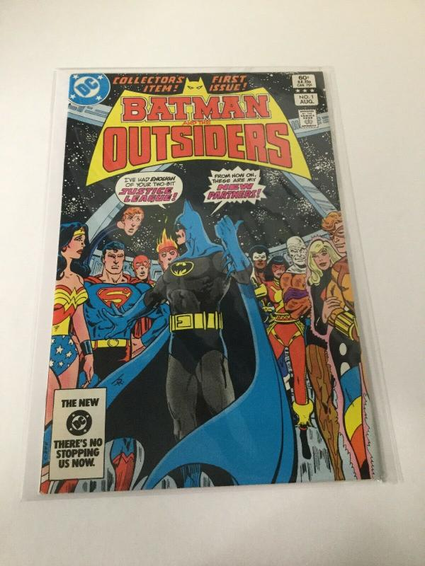 Batman And The Outsiders 1 Vf- Very Fine- DC Comics