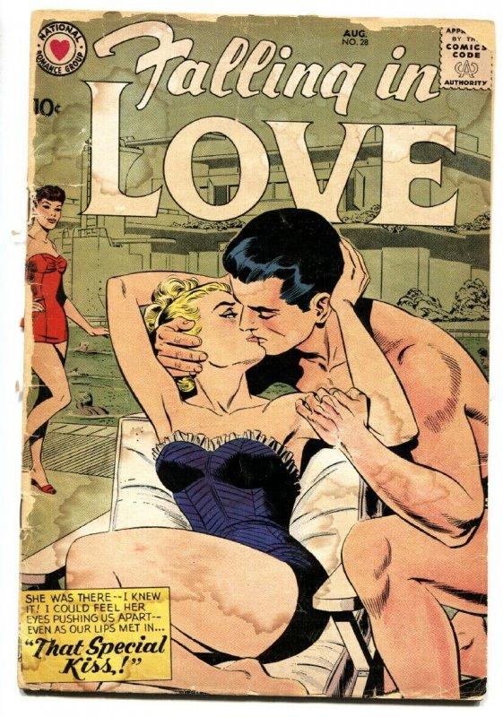 Falling in Love #28 1959- DC silver age romance comic fr