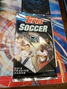 2013 mls topps soccer pack - 4 cards