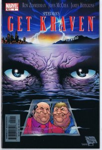 Get Kraven #5 Cape Fear Homage Cover ORIGINAL Vintage 2002 Marvel Comics