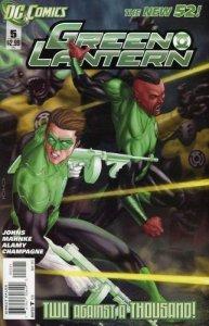 Green Lantern #5 (VF/NM) 2011 Variant Cover DC Comics ID#000