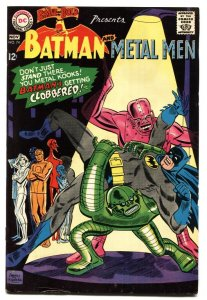 Brave And The Bold  #74 1967- Batman - Metal Men- DC Silver Age FN+