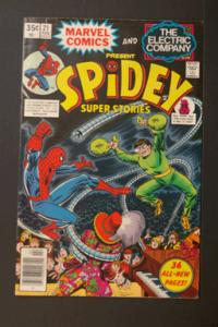 Spidey Super Stories #21 Feb 1977 Marvel & Electric Company