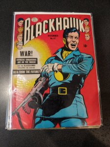 BLACKHAWKS #47 GOLDEN AGE CLASSIC