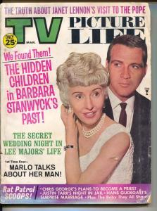 TV Picture Life-Barbara Stanwyck-Lee Majors-Marlo Talks-Mar-1967