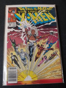 UNCANNY X-MEN #227 COPPER AGE VF/NM