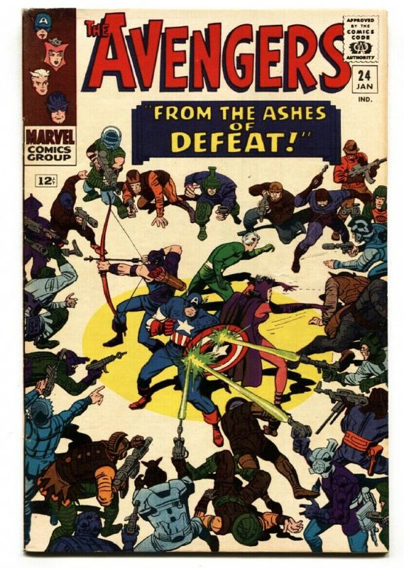 The Avengers #24 1966- Marvel Silver Age- VF-