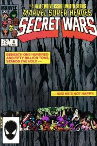 Marvel Super-Heroes Secret Wars #4, NM- (Stock photo)