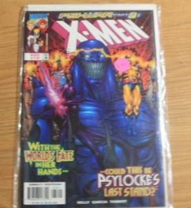 X-Men # 78 (Aug 1998, Marvel) psi war pt 3 shadow king psylocke