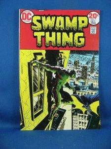 SWAMP THING 7 VF+ Wrightson 1973 Batman