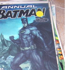 Batman Annual # 28 (2011, DC) VEIL AND NIGHTRUNER