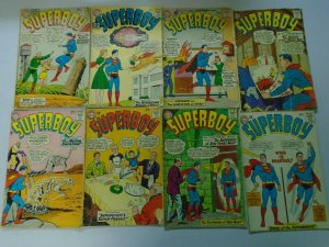 Superboy comic lot 20 diff 12 cent covers from #100-134 avg 3.0 GD VG (1692-66)