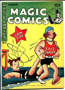 Magic #85 1946-McKay-Mandrake-Dagwood-Ray Crane-Popeye-Lone Ranger-Blondie-VF-