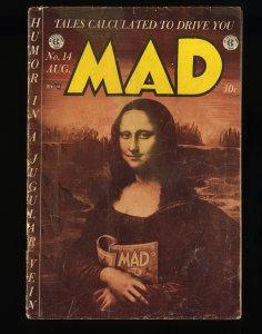 Mad #14 GD 2.0