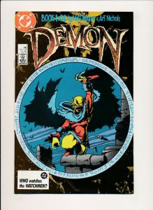 DEMON Book #1 ~ DC Comics 1987 ~ VF/NM (PF359) Art Nichols