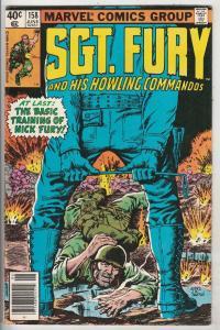 Sgt. Fury and His Howling Commandos #158 (Jun-79) FN/VF+ Mid-High-Grade Sgt. ...