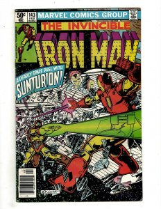 10 Iron Man Marvel Comics # 143 144 145 146 147 148 149 150 151 153 Stark J451