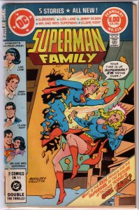 Superman Family   #215 FR Supergirl, Lois Lane